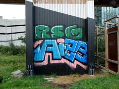 RSG (oerendhard1) Tags: graffiti streetart urban art rotterdam oerendhard vandalism illegal throw ups tags rsg luchtsingel