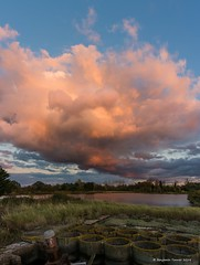 Quarry (frattonparker) Tags: btonner lightroom6 nikond810 tamron28300mm vertorama win10 frattonparker sunset clouds cirrus cumulus cirrocumulus cumulonimbus altocumulus stratus stratocumulus sky