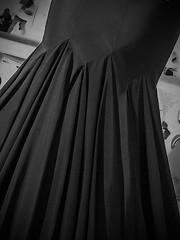 Creation (Solène.CB) Tags: design fashion mode designmuseum london creation création azzedinealaïa couturier genius génie exhibition exposition solènecb canoneos70d dress robe folds plis openhouselondon2018