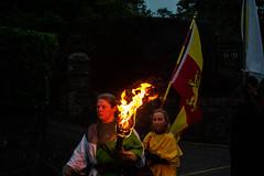 Owain Glyndwr Weekend 2018 (Coed Celyn Photography) Tags: knights knight armour reenactment larp medieval re enact harlech castle north wales gwynedd snowdonia eryri cymru cymraeg living history flames flame fire torch march parade light lit