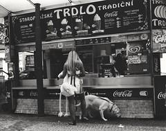 Mamiya RZ67, Ilford HP5, Streetshot Prague (Lex van der Holland) Tags: analog mediumformat film ilfordhp5 streetshot streetphotography prague