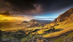 Skye Sunrise (petebristo) Tags: quarings skye isleofskye landscape sunrise sunset scotland scotishwalks