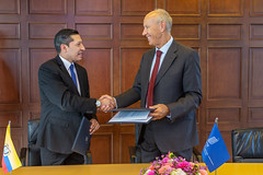 WIPO and Ecuador Sign Agreement on ADR for IP Disputes (WIPO | OMPI) Tags: assemblies bilateralmeeting directorgeneral ecuador francisgurry ompi wipo