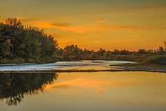 River Edge Sunset View (http://fineartamerica.com/profiles/robert-bales.ht) Tags: aupload freshwater gemcounty haybales idaho people photo places projects states sunsetorsunrise sunrise sunset emmett treasurevalley fall payetteriverreflections river scenic water scenicbiway blue americaphotography northamericaphotography pacificnorthwestphotography idahophotography beautiful sensational spectacular scenicriverphotography riverphotography panoramic awesome magnificent peaceful surreal sublime magical canonshooter red clouds robertbales snakeriver yellow trees