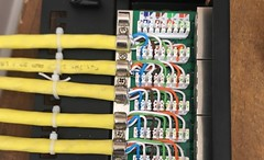"CAT7 CABLE TERMINATED PATCH PANEL • <a style=""font-size:0.8em;"" href=""http://www.flickr.com/photos/161212411@N07/43322962590/"" target=""_blank"">View on Flickr</a>"