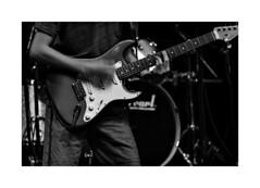 Stratocaster (beloy) Tags: music concert rock guitar stratocaster fender candid bw blackandwhite motion paloalto california nikon nikond850 70300mmf4556evr nikkor