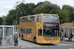 RB 210 @ Bracknell bus station (ianjpoole) Tags: reading buses alexander dennis enviro 400 kx59gnu 210 working route the lion 4 bracknell bus station st marys butts