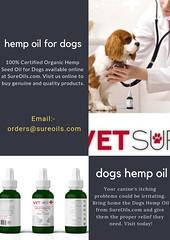dogs hemp oil (sureoilsonline) Tags: dogs hemp oil for pets itch relief oils