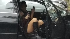 PARKING LOT HOOK UP (daveinnyc194223) Tags: parking lot sex legs woman girl boots fuck backseat hookup