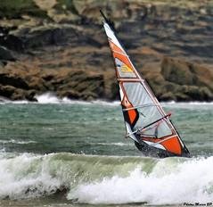 Photos Marco BP (44) (marcbihanpoudec) Tags: plancheàvoile porspoder vent presquiledesaintlaurent vagues