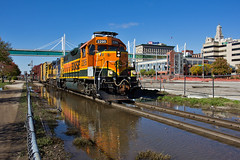 BN Rock (Trainboy03) Tags: burlington northern santa fe bnsf 2295 davenport iowa ia