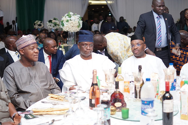 HSDickson - At the send forth ceremony of Governor Ayo Fayose in Abuja. Oct 2018