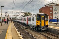 317651 Greater Anglia Hackney Downs 11.10.18 (Paul David Smith (Widnes Road)) Tags: 317651 greater anglia hackney downs 111018 3177 tfl