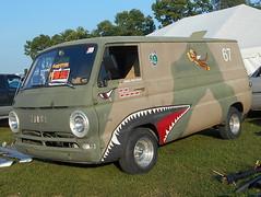 1967 Dodge A-108 (splattergraphics) Tags: 1967 dodge a108 van truck custom fighter mopar carshow carlisle carlisleallchryslernationals carlislepa