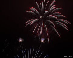 Flowers in the sky (Lee1885) Tags: fireworks wirral dark fire bright newbrighton colour night november sky