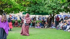 YMPST waggon play performance, King's Manor, 16 September 2018 - 09 (nican45) Tags: yorkmysteryplays2018 16september2018 16092018 18135 18135mm 2018 csc fuji fujifilm kingsmanor mysteryplays nickansell september supporterstrust theharrowingofhell xt2 xf18135mmf3556rlmoiswr ymp ympst york yorkshire cast costumes mirrorless performance photographer photography waggonplay