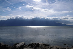 zerkratzterHimmel1 (marcel.photo) Tags: vevey schweiz switzerland genfers lac lémon himmel sky