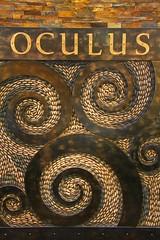 Oculus (David K. Edwards) Tags: retail optical optician signage downtown santafe stone brick