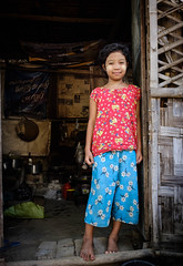 Colourful child... (Gerrykerr) Tags: village child ngc myanmar burma asia