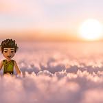 #ElvesDay 14 - Faran in the Snow thumbnail