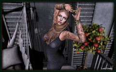 ♥ Celestial ... ♥ (ladychrissseyyal) Tags: ♥ celestial posemovementt mvt wanna be high movementt eyesa r t e borealis eyes a the spoonful sugar event tattooredfish head keys redfish ultra events new location dressavale lila gray avale