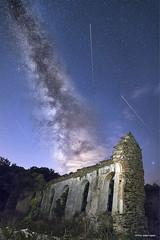 El Centenillo (Francisco José López) Tags: franciscojoselopezmorante pentaxk1 via lactea ruinas nocturna estrellas