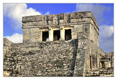 Tulum MEX - Castillo 05 (Daniel Mennerich) Tags: tulum precolumbian maya quintanaroo mexico