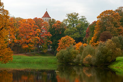 Indian summer (Rambynas) Tags: lithuania lietuva autumn fall colors trees reflection