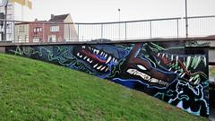 Avoid & Kathaoir / Ter Platen - 9 sep 2018 (Ferdinand 'Ferre' Feys) Tags: gent ghent gand belgium belgique belgië streetart artdelarue graffitiart graffiti graff urbanart urbanarte arteurbano ferdinandfeys