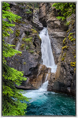 Lower Falls,Johnston Canyon (Sean X. Liu) Tags: water falls waterfalls lowerfalls johnston canyon banffnationalpark banff alberta canada rockymountains canadianrockies