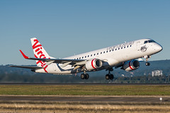 VH-ZPN Virgin Australia Embraer ERJ-190AR 34R Sydney Airport SYD/YSSY 29/5/2017 (TonyJ86) Tags: vhzpn virginaustralia vaustralia virginblue vavoz embraer erj190ar ejet erj190100igw regionaljet twinjet aircraft aviation airliner airplane aeroplane plane passenger jet jetliner jetaircraft jetplane passengerplane passengerjet departure takeoff rotate flight fly airport syd yssy sydneyairport sydneykingsfordsmith sydney nsw newsouthwales australia planespotting avporn aviationporn avgeek travel nikon d750 nikond750 vehicle outdoor aviationphotography nikkor70200mmf28vrii nikontc20eiii