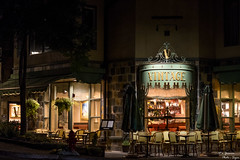 Vintage (yarnim) Tags: restaurant storefront sony a7m3 a7iii ilce7m3 vintage vail colorado outdoor decor building night lowlight sel85f18