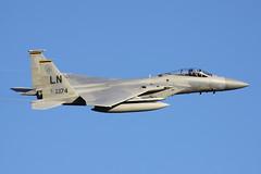 McDonnell Douglas F-15C Eagle 86-0174 - 493rd Fighter Squadron, USAFE - RAF Lakenheath, October 2018 (StrikeEagle492) Tags: boeingf15eagle mcdonnelldouglasf15 f15eagle eagle 48thfighterwing libertywing 48fw usafe unitedstatesairforce usaf airforce unitedstatesairforcesineurope raflakenheath ln suffolk 493fs grimreapers 493rdfightersquadron f15c f15ceagle 860174 canoneos50d canonef70300mmlis