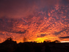 Sunset 24-10-18 [Explored] (alisonsage1) Tags: sunset clouds sky