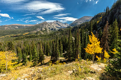 """Rocky Mountain High, Colorado"" (chasingthelight10) Tags: photography events travel landscapes mountains colorado places rockymountainnationalpark spraguelake lakes rockymountainelk things horseshoepark dreamlake bearlake morainepark emeraldlake trailridgeroad forests foliage sunrise autumn otherkeywords aspens trees wildlife estespark"
