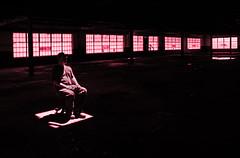Waiting (Greg Adams Photography) Tags: selfportrait scrantonlace shadows decay light windows me hole man abandoned chair pa pennsylvania urban factory lace abandonedamerica photoshoot workshop hhsc2000 2015