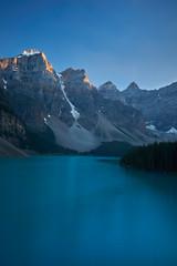 Moraine Lake (alphapiglet_) Tags: sony a6000 sonyalpha lake moraine canada banff blue mountain peaks white snow teal alpine nature landscapes