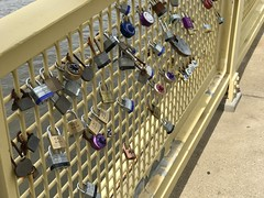 Lovelocks (primemover88) Tags: bridge lovelocks roberto clemente pittsburgh pa