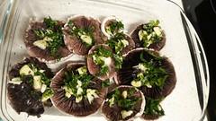 Preparados para el... horno (VV - dí.) Tags: agaricuscampestris hongos mundofungi fungi ajos perejil aceitedeoliva sal champiñonesdecampo recetas