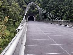AGQ-20180927-0023 (AGQue) Tags: 2018 asia autumn fall gmt0900tokyostandardtimezone japan koka september shigaprefecture travelphotography bridge museum suspensionbridge tunnel vacationing kokashi jp