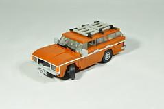 1977 Ford Granada Mk1 (03) (Mateusz92) Tags: lego moc afol zbudujmy car ford granada mk1