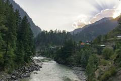 River (Rizwan_Saeed) Tags: valley azadkashmir mountains range north pakistan nikon photography landscape scene nature green sky summer love cool beauty dilshadrazi neelum river tree watre sunrays