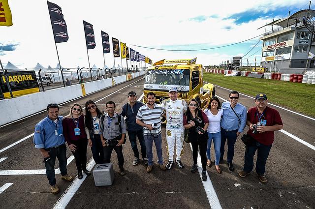 04/10/18 - Ação Speed Truck com imprensa Uruguaia - Fotos: Duda Bairros