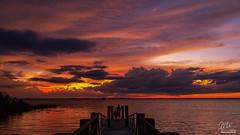 Skyfire over Lake Washington (Michael Seeley) Tags: canon florida lakewashington lovefl melbourne mikeseeley sunset