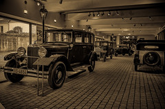 View into another time (Peter's HDR hobby pictures) Tags: petershdrstudio hdr classiccar car klassiker oldtimer auto sepia