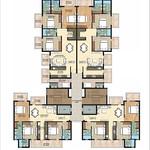 ambika-la-parisian-tromphe-tower-A-cluster-plan