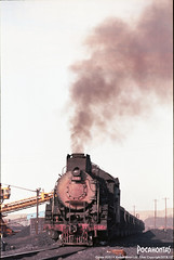 2018/10/2 JS8197 Sandaoling (Pocahontas®) Tags: js8197 steam engine locomotive train rail railway railroad steamtrain steamlocomotive steamengine loco film 135film kodak ektar100