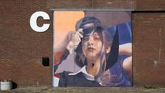 - Undecided - (Jacqueline ter Haar) Tags: telmomiel rotterdam mural streetart undecided powwowrotterdam