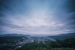 The View of Otaru (hidesax) Tags: theviewofotaru 小樽の風景 otaru hokkaido japan skyline clouds sky cityscape hidesax sony a7ii voigtlander 10mm