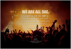 Neale Donald Walsch We are All One. Everything We are doing, We are doing in concert with each other. Our reality is a co-created reality (symphony of love) Tags: nealedonaldwalsch humility quoteonhumility picturequoteonhumility humbleness behumble symphonyoflove sol omrekindlingthelightwithin om quotation quote quoteoftheday quotetoliveby quotes qotd inspirationalquote inspirational inspiringquotes inspiration motivationalquotes motivatingquotes motivation dailymotivation dailyinspiration dailyquote potd picturequote picture pictureoftheday pictures